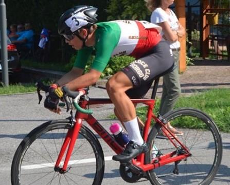 Il campione italiano Esordienti 2° anno Thomas Capra (Vc Borgo)