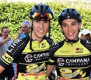 Zambanini e Slomp, compagni di squadra alla Campana Imballaggi
