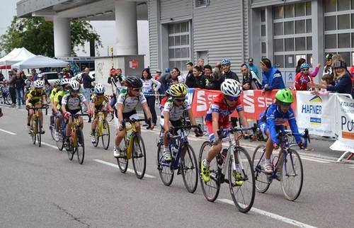 Il passaggio di una delle corse del 5° Trofeo Assicurazioni Potenza