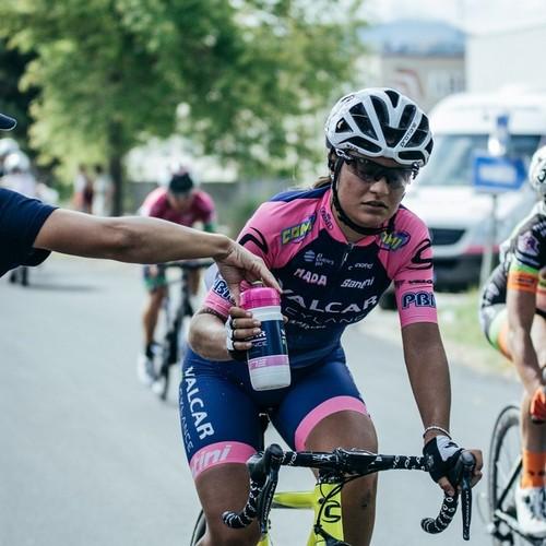 La bolzanina della Valcar Cylance Cycling Alessia Vigilia