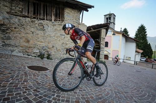 Il neo campione italiano Esordienti 2° anno Thomas Capra in azione (foto R. Merler)