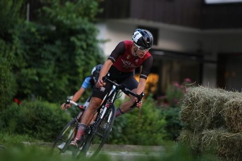 Marco Andreaus con la maglia del Veloce Club Borgo