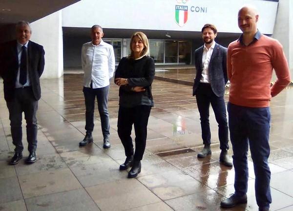 Il nuovo direttivo del Comitato Trentino