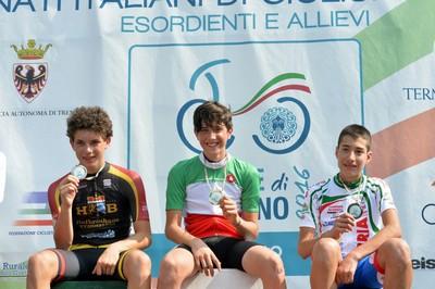 Andrea Dalvai (a sinistra) medaglia d'argento nel 2016 alle Terme di Comano