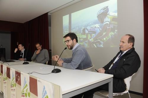 Il presidente della Fci trentina Broccardo e il presidente del C.O. Angelo Zambotti durante la presentazione (foto Natascia Mosna)