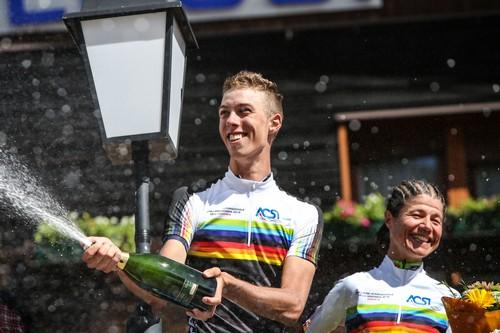 I vincitori dell'edizione 2018 Michael Spoegler e Sabine Gandini (foto R. Merler)