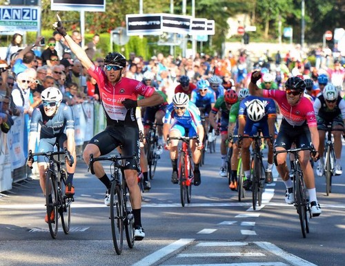 L'arrivo del Giro della Bolghera 2019