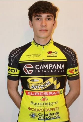 Il droato del Team Campana Imballaggi Edoardo Zambanini