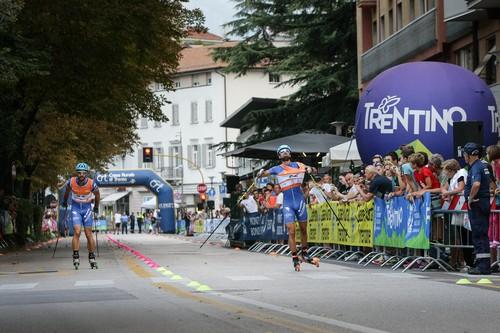 La finale vinta da Becchis su Berlanda (foto Merler)