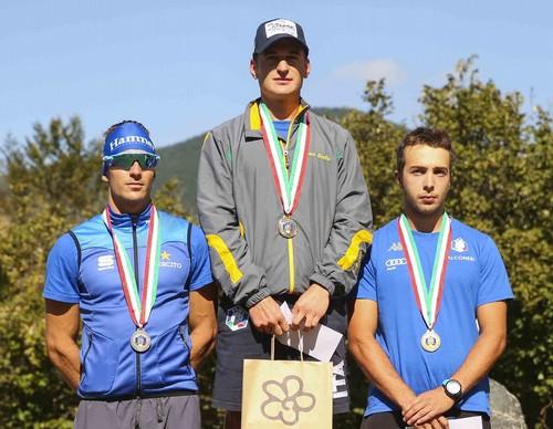 Giandomenico Salvadori (primo) e Paolo Ventura (terzo)