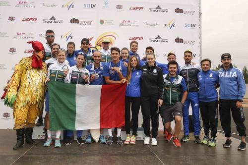 La squadra italiana presente ai Mondiali di Madona