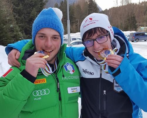 Manuel Gaio e Nicolò Debertolis mordono la medaglia d'oro