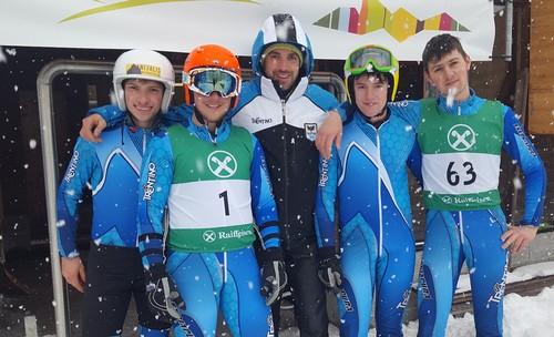Il team del Comitato Trentino ai tricolori 2017