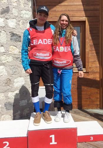 Filippo Collini e Matilde Vianello campioni under 18