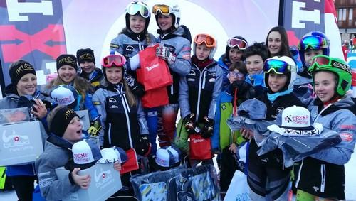 La squadra del Falconeri Ski Team