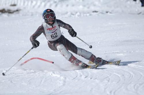 Aleksander Aamodt Kilde in pista a Pinzolo nel 2005