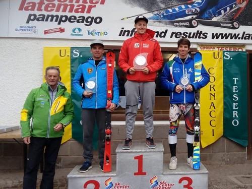Podio slalom speciale Fis maschile