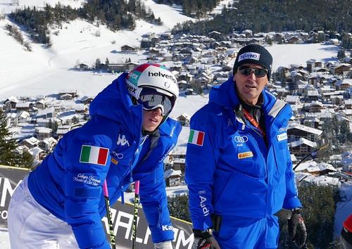 Matteo Guadagnini con Marta Bassiino