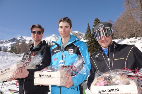 Giorgio Ronchi vincitore dello slalom a Pejo