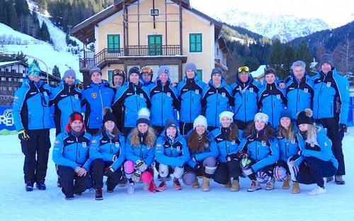Il Trentino Ski Team di sci alpino