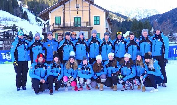 La squadra sci alpino stagione 2019/2020
