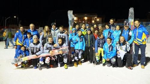 I premiati al Trofeo La Contea di team event di Bolbeno