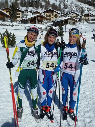 Fabiana Carpella, Giulia Andrighi e Serena Rigo