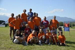 Il gruppo sci d'erba dello Sci Club Levico
