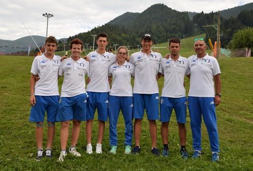 I 6 trentini convocati per i mondiali junior con il tecnico Parisi