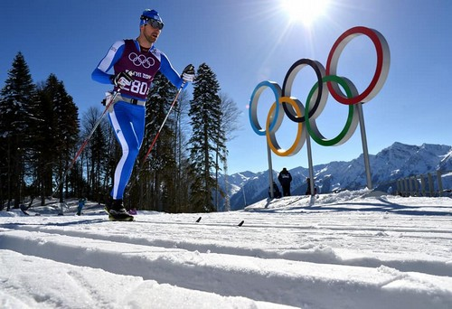 Enrico Nizzi alle Olimpiadi di Sochi