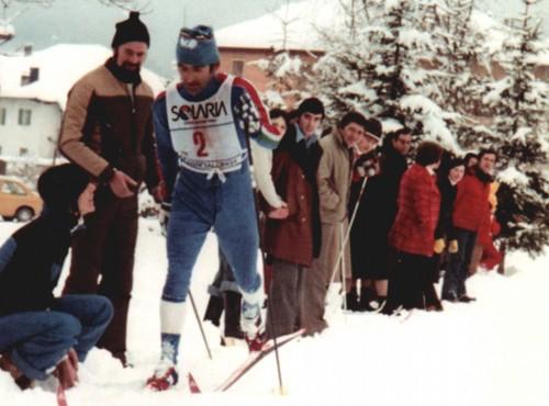 Il campione Renzo Chiocchetti (foto archivio Us Monti Pallidi)