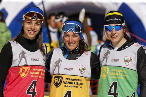 Silvia Campione, Maria Eugenia Boccardi e Nicole Monsorno (foto Becchis)