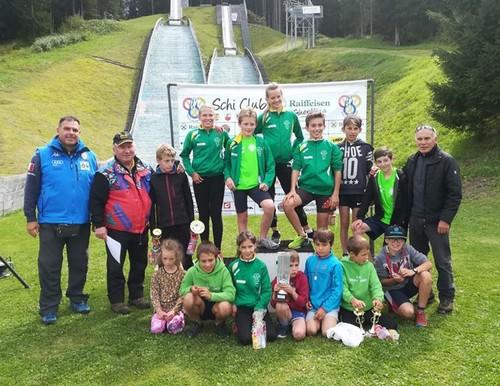 Il team giovanile del Monte Giner vincitore della Coppa Italia 2018