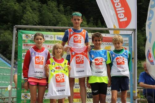 I leader di Coppa Italia sul podio di Predazzo