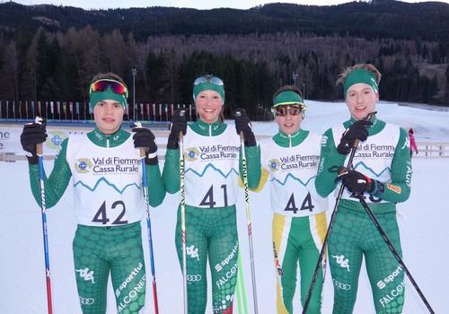 Bortolas, Sieff, Radovan e Monteleone, medagliati in combinata under 16