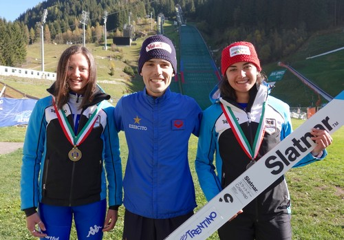 Annika Sieff, Davide Bresadola e Veronica Gianmoena le medaglie trentine