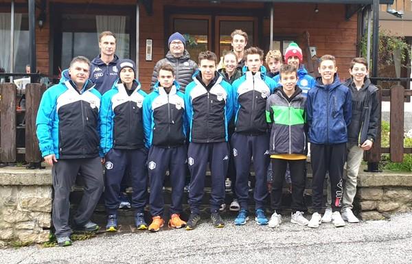 La squadra Salto e Combinata Nordica stagione 2019/2020
