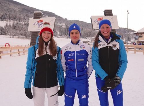 Giada Tomaselli, Jacopo Bortolas e Annika Sieff