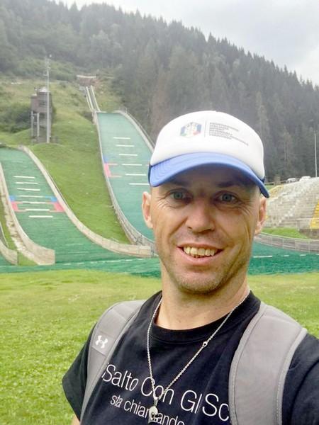 Il tecnico del Comitato Trentino Walter Cogoli