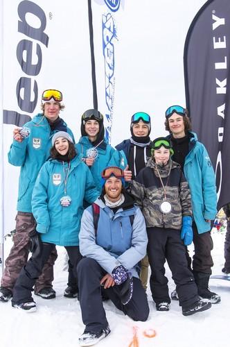 Il team trentino di snowboard freestyle