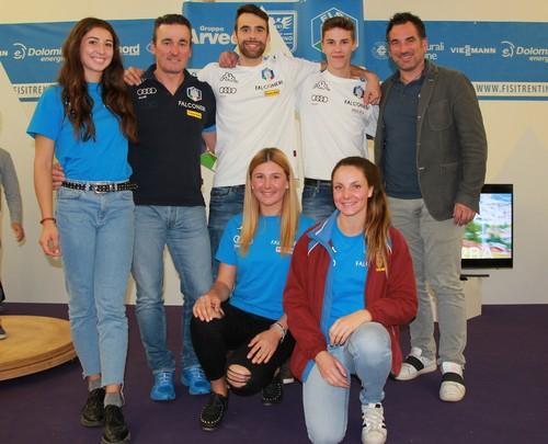 Gli azzurri Fisi presenti a Trentino Sport Days