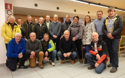 Il Consiglio Regionale di Fisi Trentino in riunione all'Apt Alpe Cimbra