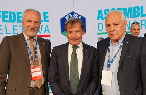 Elio Grigoletto, Flavio Roda e Angelo Dalpez