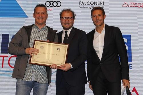La premiazione dello Ski Team Fassa