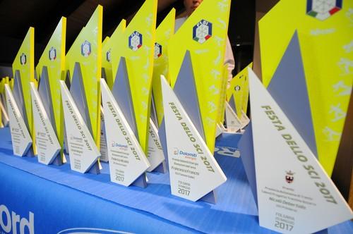 I trofei della Festa dello Sci
