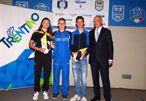Francesca Franchi, Davide Magnini e Federico Nicolini