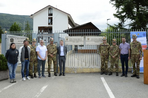 Inaugurazione della Sezione del Centro Sportivo Esercito a Brunico