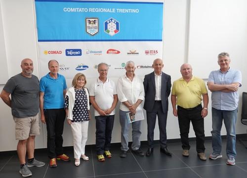 Gli organizzatori degli eventi estivi di Fisi del Trentino