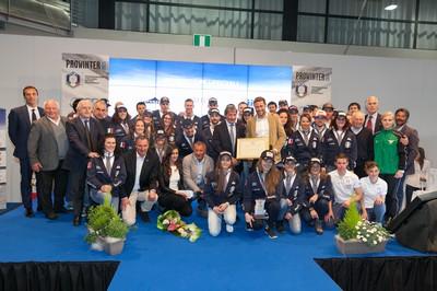 Gli azzurri premiati a ProWinter 2015