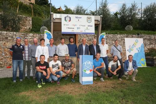Lo staff tecnico del Comitato Trentino Fisi (foto Raffaele Merler)